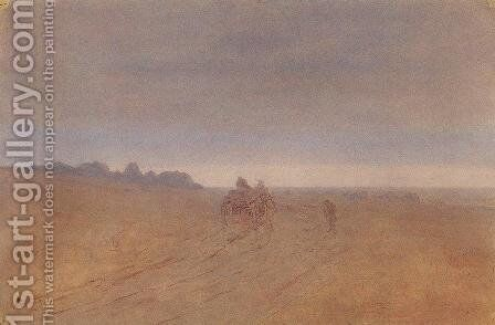 Autumn. Fog by Arkhip Ivanovich Kuindzhi - Reproduction Oil Painting