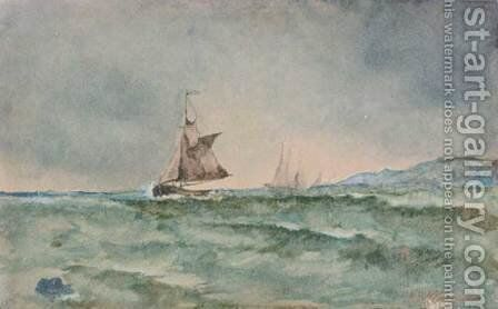 Sailboats by Ioannis (Jean H.) Altamura - Reproduction Oil Painting