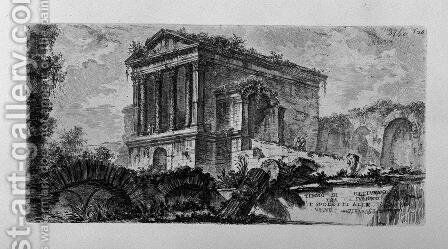 Arch of Pula in Istria near the port by Giovanni Battista Piranesi - Reproduction Oil Painting