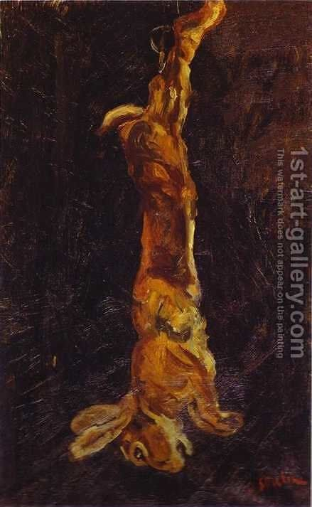 Hanging Hare by Chaim Soutine - Reproduction Oil Painting