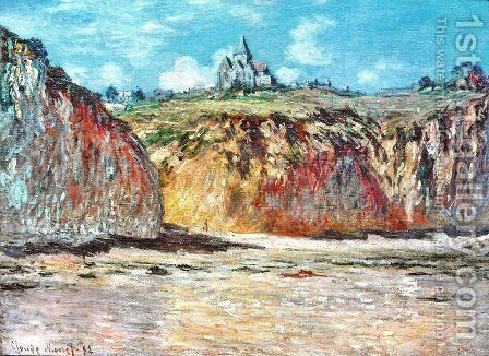The Church at Varengeville 02 by Claude Oscar Monet - Reproduction Oil Painting