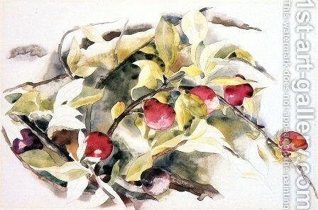 Plums by Charles Demuth - Reproduction Oil Painting