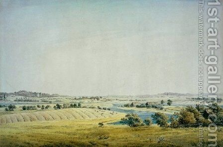 Rogen landscape in Putbus by Caspar David Friedrich - Reproduction Oil Painting