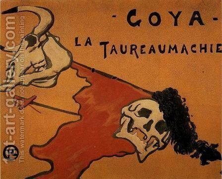 Tauromaquia by Toulouse-Lautrec - Reproduction Oil Painting