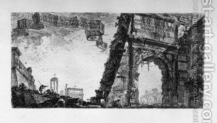 Table text Registrations that are in the monuments of this collection by Giovanni Battista Piranesi - Reproduction Oil Painting