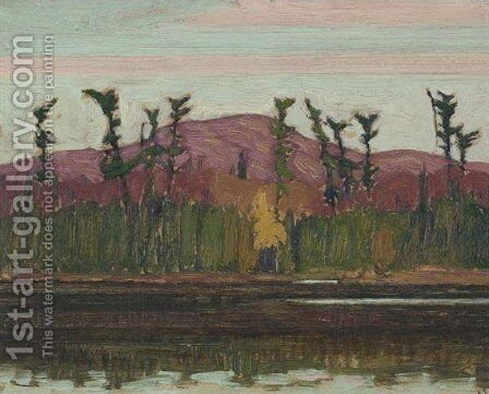 Layton's Lake, Algoma by James Edward Hervey MacDonald - Reproduction Oil Painting
