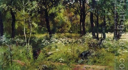 Forest Glade 2 by Ivan Shishkin - Reproduction Oil Painting