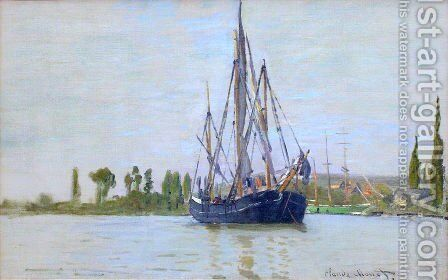 The Sailing Boat by Claude Oscar Monet - Reproduction Oil Painting