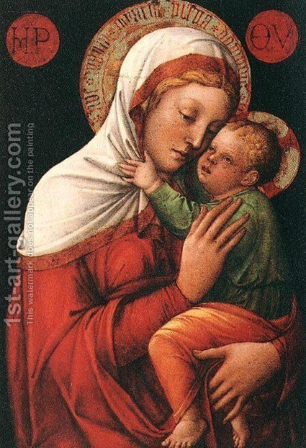 Virgin and Child 3 by Giovanni Bellini - Reproduction Oil Painting
