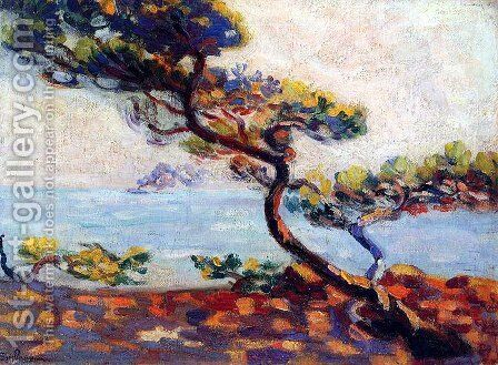 Dans le Midi by Armand Guillaumin - Reproduction Oil Painting