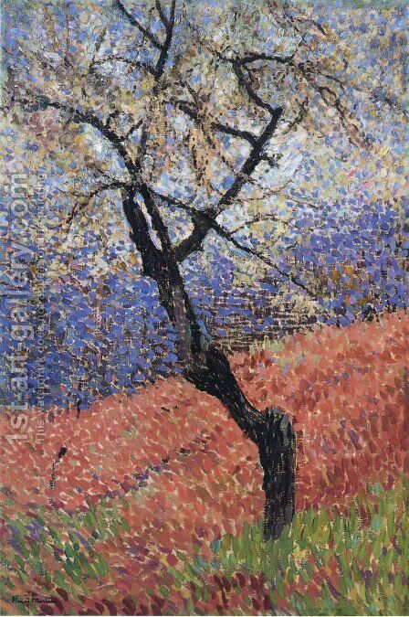 The Tree by Henri Martin - Reproduction Oil Painting