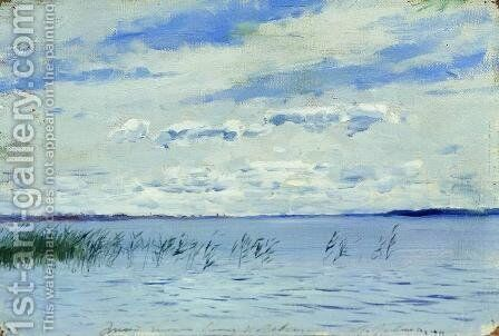 Lake by Isaak Ilyich Levitan - Reproduction Oil Painting