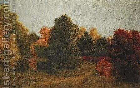 Autumn by Arkhip Ivanovich Kuindzhi - Reproduction Oil Painting