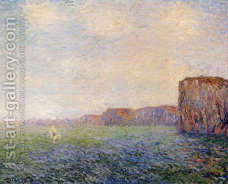 Cliffs by the Sea by Gustave Loiseau - Reproduction Oil Painting