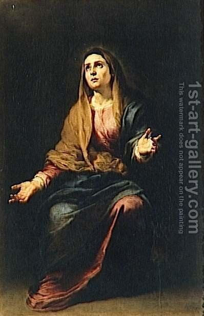 Mother of Sorrows by Bartolome Esteban Murillo - Reproduction Oil Painting