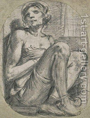 Man sitting by Bartolome Esteban Murillo - Reproduction Oil Painting