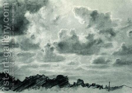 Clouds by Ivan Shishkin - Reproduction Oil Painting