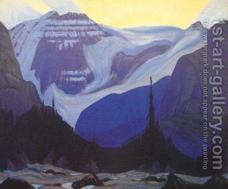 Early Morning, Rocky Mountains by James Edward Hervey MacDonald - Reproduction Oil Painting