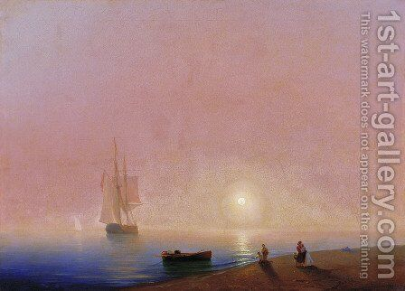 Farewell by Ivan Konstantinovich Aivazovsky - Reproduction Oil Painting