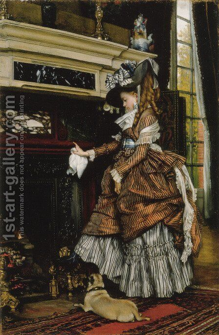 The way by James Jacques Joseph Tissot - Reproduction Oil Painting