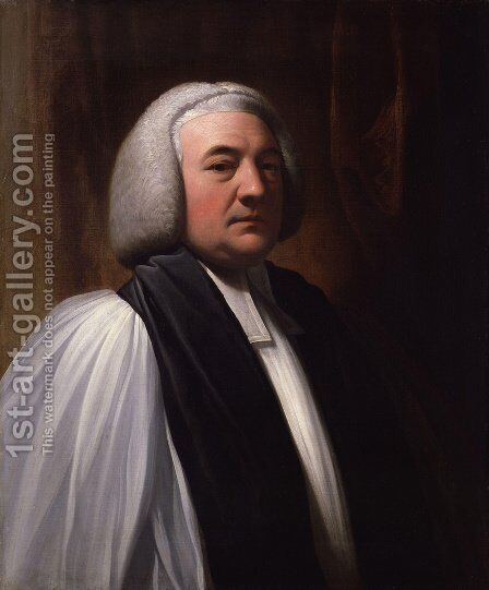William Markham by Benjamin West - Reproduction Oil Painting
