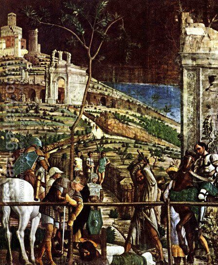 The Martyrdom of St. Jacques by Andrea Mantegna - Reproduction Oil Painting