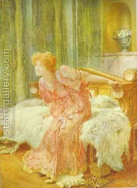 Nobody Asked You, Sir She Said by Sir Lawrence Alma-Tadema - Reproduction Oil Painting