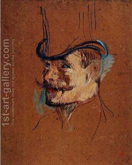 William Warrener by Toulouse-Lautrec - Reproduction Oil Painting