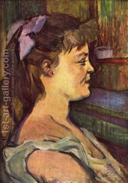 House wife by Toulouse-Lautrec - Reproduction Oil Painting