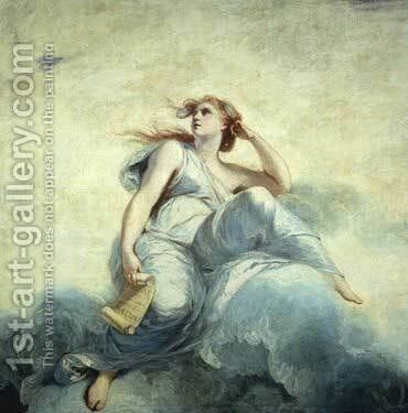 Theory by Sir Joshua Reynolds - Reproduction Oil Painting