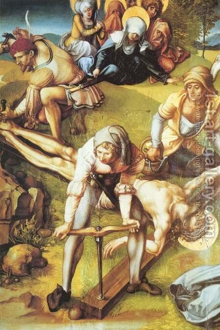 Crucifixion 3 by Albrecht Durer - Reproduction Oil Painting