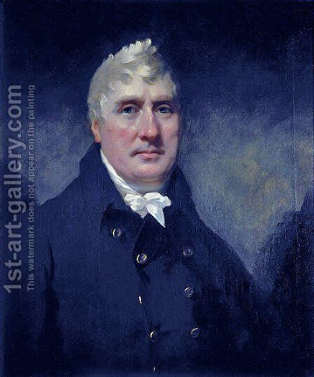 John Rennie by Sir Henry Raeburn - Reproduction Oil Painting