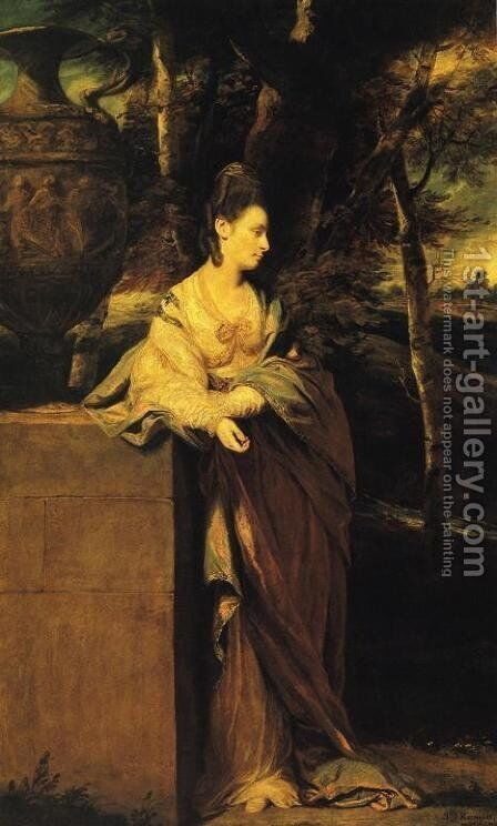 Mrs. John Parker by Sir Joshua Reynolds - Reproduction Oil Painting