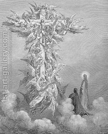 The Cross by Gustave Dore - Reproduction Oil Painting
