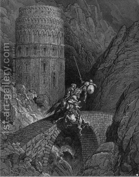 Orlando Furioso 2 by Gustave Dore - Reproduction Oil Painting