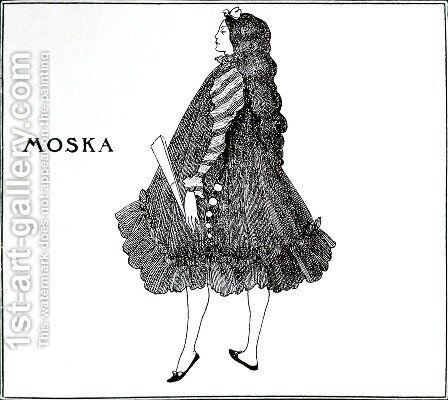 Moska by Aubrey Vincent Beardsley - Reproduction Oil Painting