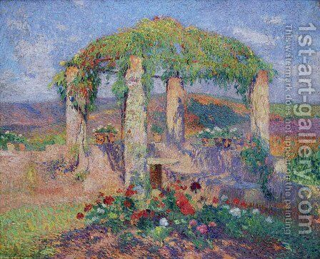 The Beginning of Autumn by Henri Martin - Reproduction Oil Painting
