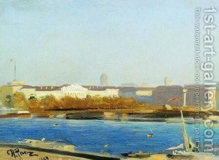Admiralty by Ilya Efimovich Efimovich Repin - Reproduction Oil Painting