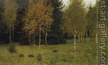 Autumn by Isaak Ilyich Levitan - Reproduction Oil Painting