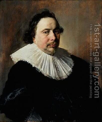 Portrait of an Unknown Man by Frans Hals - Reproduction Oil Painting