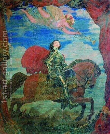Peter the Great by Boris Kustodiev - Reproduction Oil Painting