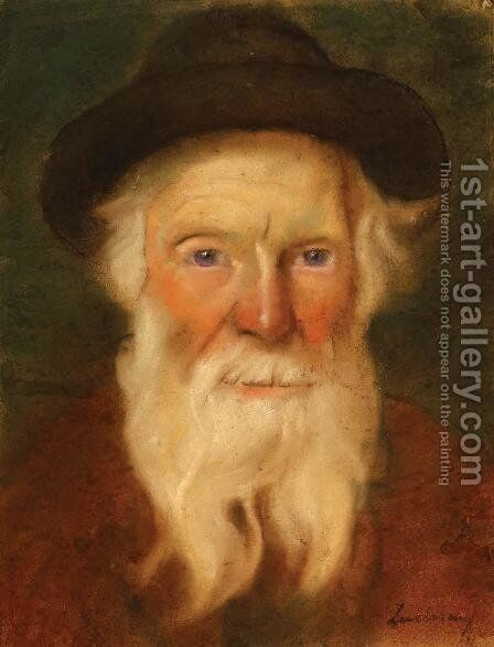 Jewish Man by Stefan Luchian - Reproduction Oil Painting