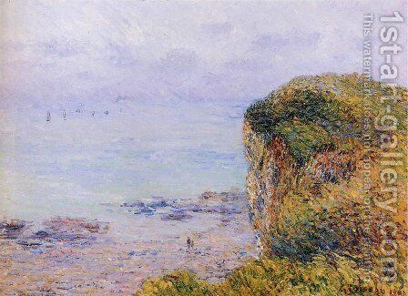Cliffs of Puy by Gustave Loiseau - Reproduction Oil Painting