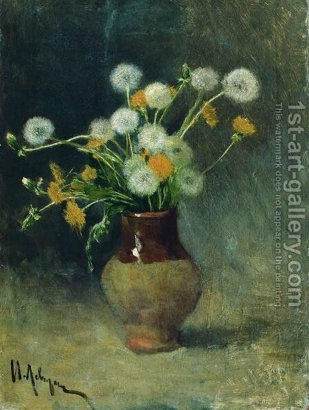 Dandelions by Isaak Ilyich Levitan - Reproduction Oil Painting