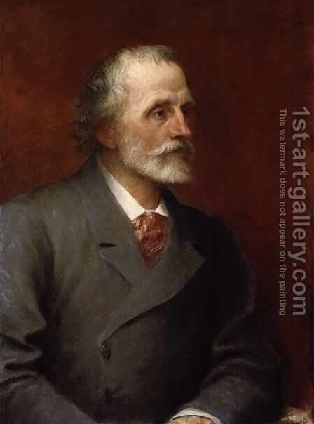 George Meredith by George Frederick Watts - Reproduction Oil Painting