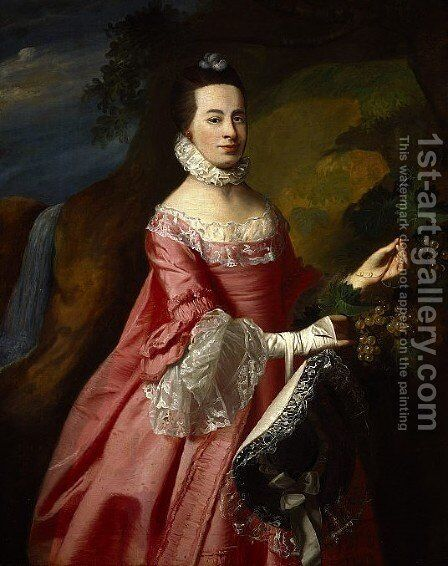 Anne Erving, Mrs.Duncan Stewart by John Singleton Copley - Reproduction Oil Painting