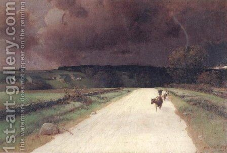 Before the Storm by Homer Watson - Reproduction Oil Painting