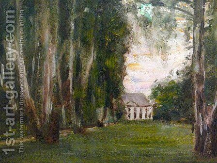 Villa by Max Liebermann - Reproduction Oil Painting