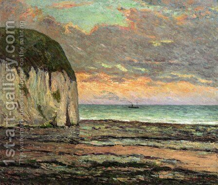 Sunset by Maxime Maufra - Reproduction Oil Painting
