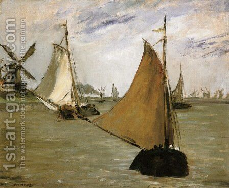 View of Holland by Edouard Manet - Reproduction Oil Painting